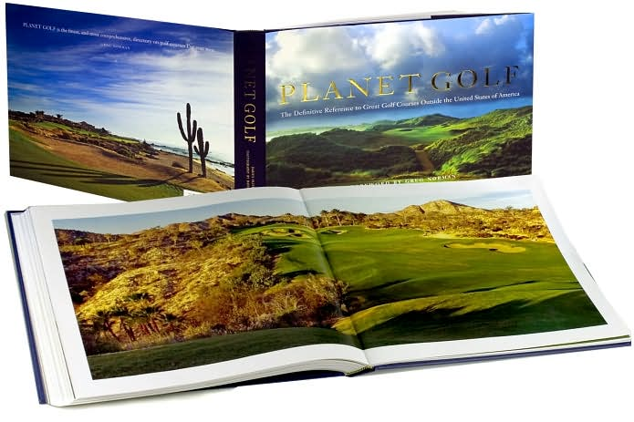 Planet Golf - Page Spread