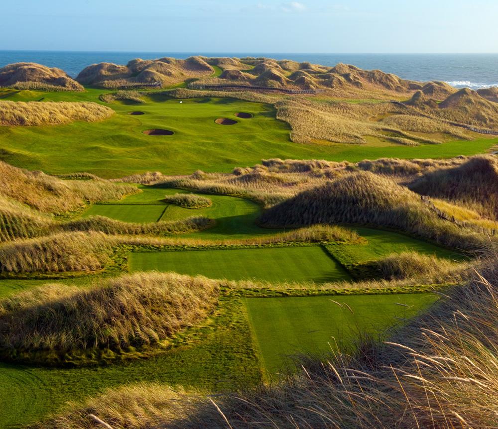 Golf: Trump International Golf Links Scotland