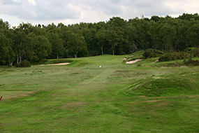 The epic par three 10th by Dr Alister MacKenzie
