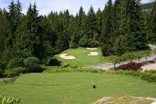 Capilano drop-kick par three 14th