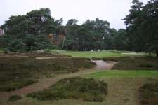 Final hole on the legendary Morfontaine short course