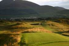 The short and underrated 7th at Royal County Down