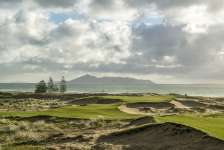 Par three 17th hole Photo by Joann Dost