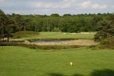 The famous par three 6th at West Sussex