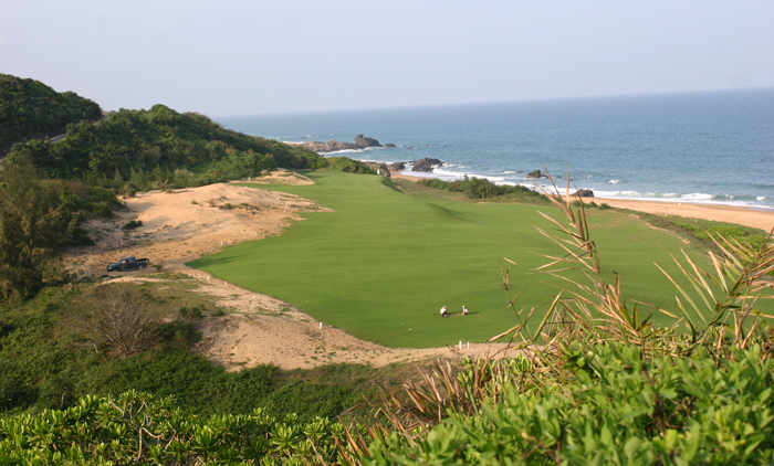 Shanqin Bay - 17th Hole